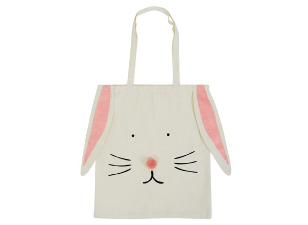 Canvas Tote Bag - Bunny - Annabel Trends