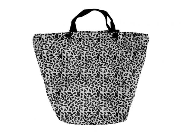 Shopping Trolley Bag - Leaf Black - Annabel Trends