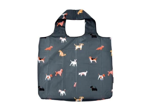 Shopping Tote - Dog Lover - Grey 1