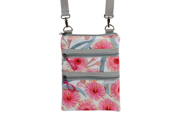 AT Travel 3 Zip Bag - Pink Gum Blossom - Annabel Trends