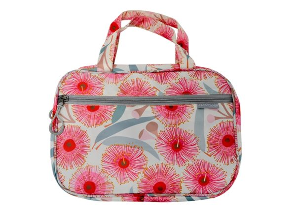 Toiletries Bag - Pink Gum Blossom - Annabel Trends