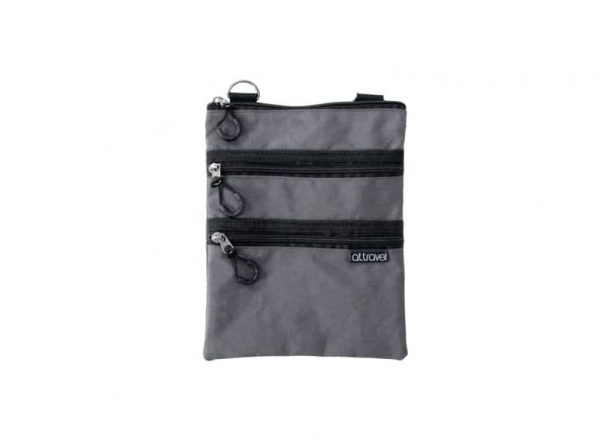 AT Travel 3 Zip Bag - Charcoal - Annabel Trends