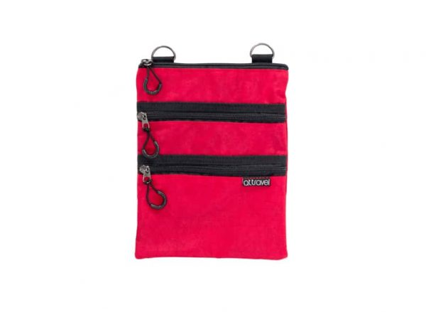 AT Travel 3 Zip Bag - Red - Annabel Trends