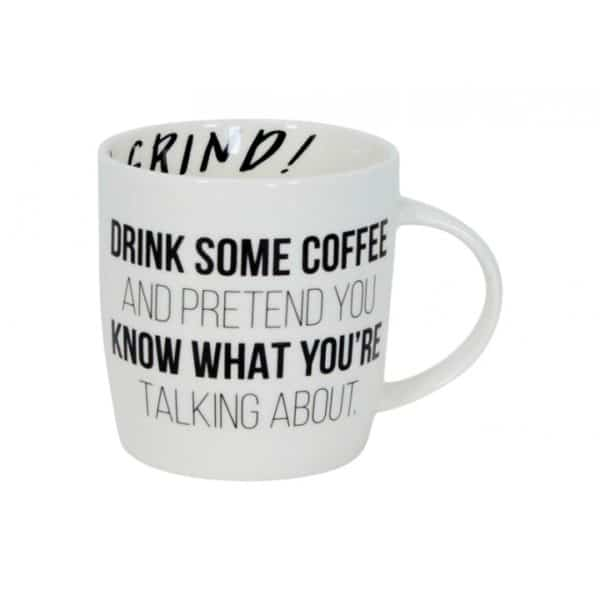 Coffee Mug - Office Humour -  Drink Some Coffee - Annabel Trends