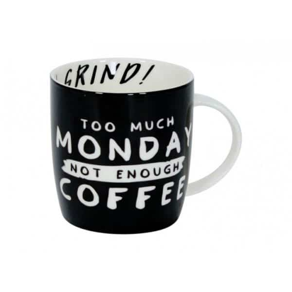 Coffee Mug - Office Humour -  Too Much Monday - Annabel Trends