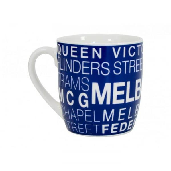 Coffee Mug - Text - Melbourne - Annabel Trends