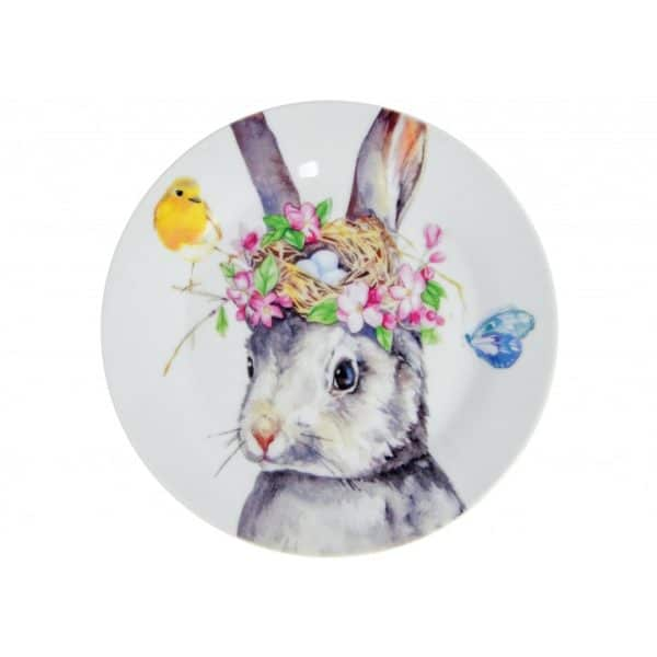 Ceramic Plate - Bunny - Annabel Trends