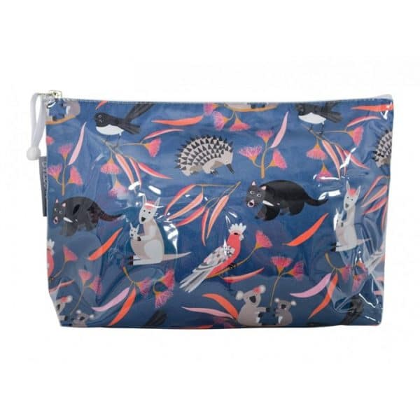 Cosmetic Bag - Large - Animal Mix - Annabel Trends