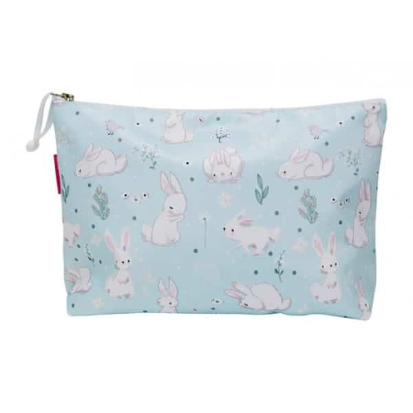 Cosmetic Bag - Large - Baby Bunny - Annabel Trends