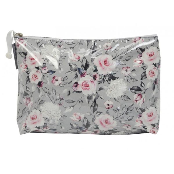 Cosmetic Bag - Large - Roses - Annabel Trends
