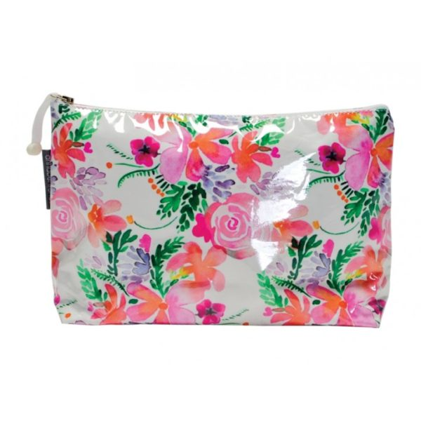 Cosmetic Bag - Large - Sweet Blooms - Annabel Trends