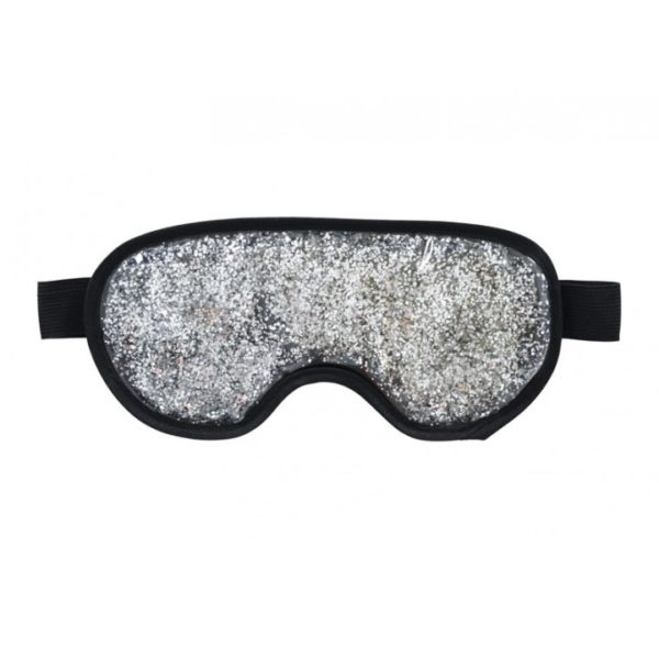 Eye Mask - Gel Glitter Silver - Annabel Trends