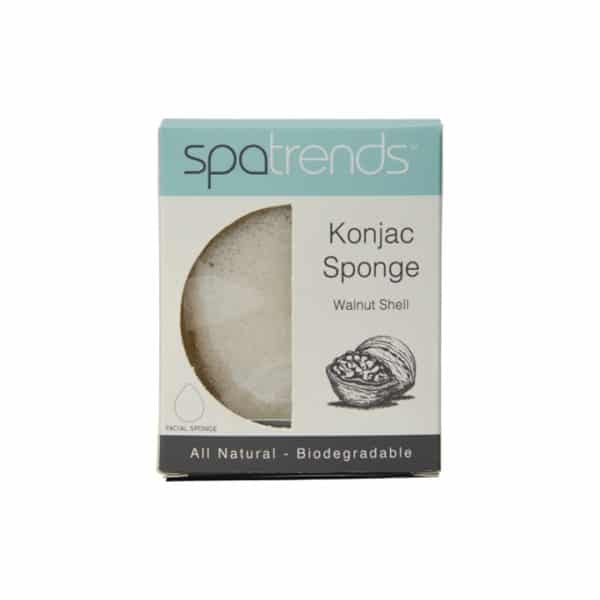 Spa Trends - Konjac Sponge - Walnut Shell - Annabel Trends