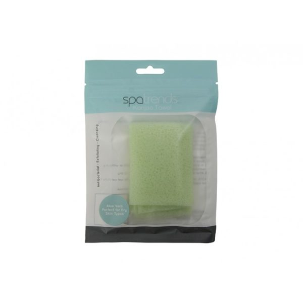 Spa Trends - Konjac Towel - Aloe Vera - Annabel Trends