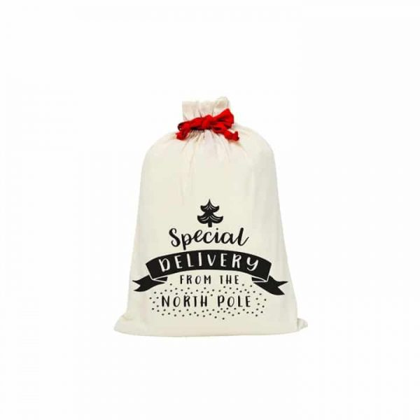 Santa Sack - Canvas - Special Delivery - Annabel Trends