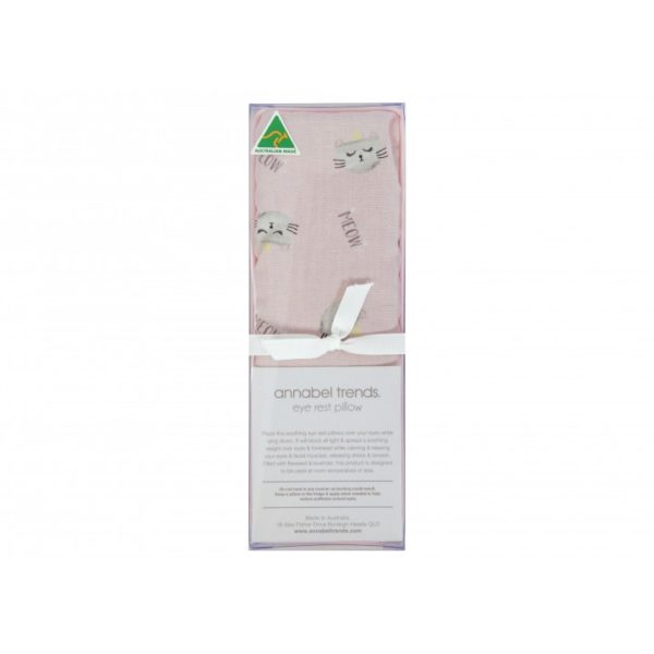 Eye Rest Pillow - Cats Meow Pink - Annabel Trends