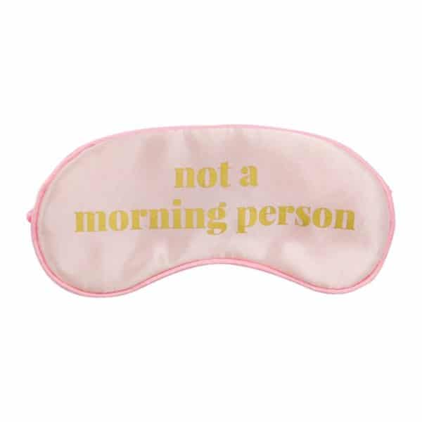 Travel Eye Mask - Morning Person - Annabel Trends
