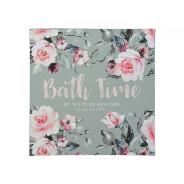 Bath Bomb Gift Set - Roses - Annabel Trends