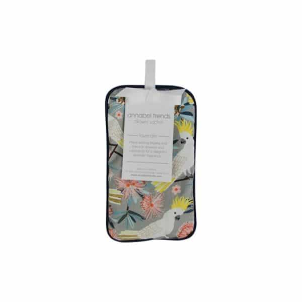 Drawer Sachet - Crested Cockatoo - Annabel Trends