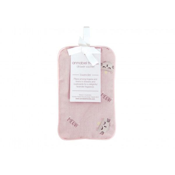 Drawer Sachet - Cats Meow Pink - Annabel Trends