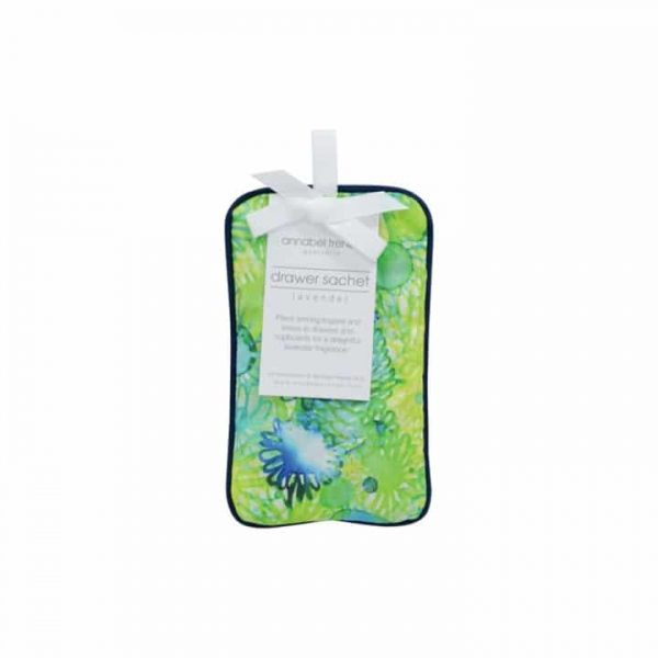 Drawer Sachet - Green Blue Floral - Annabel Trends