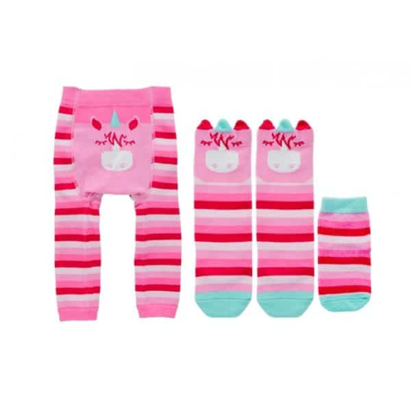Boxed Baby Sock Set - Unicorn - Annabel Trends