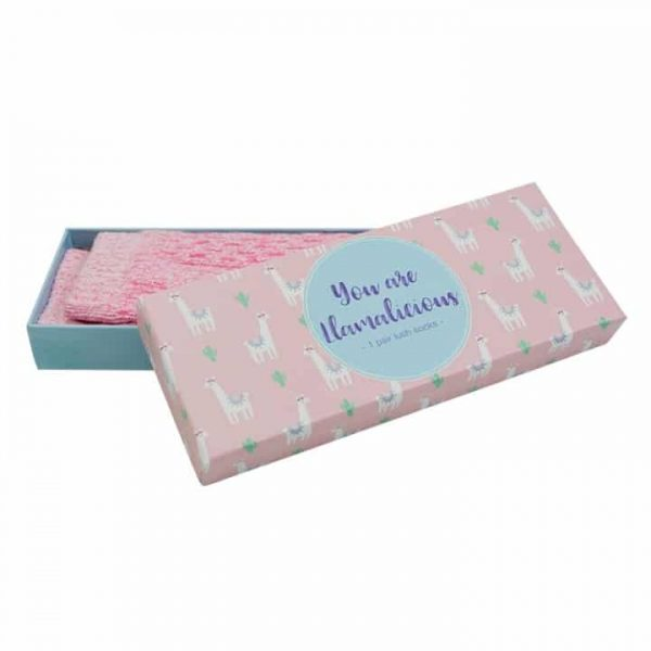 Socks - Boxed - You Are Llamalicious - Annabel Trends