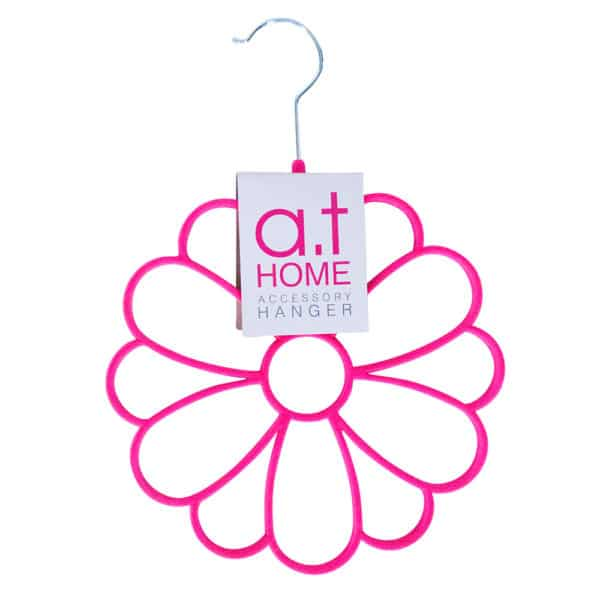 AT Home Accessory Hanger - Daisy - Pink 1