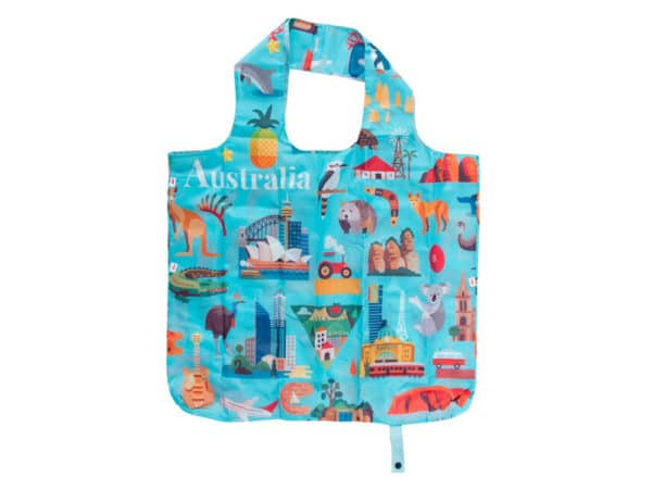 Australia Shopping Tote - Icons - Annabel Trends