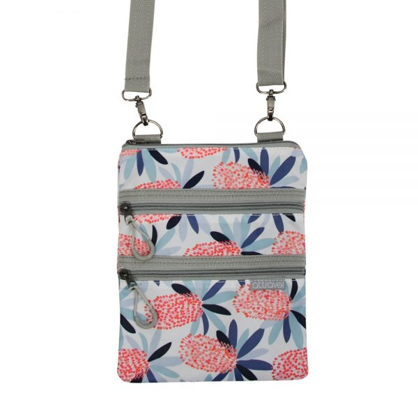 AT Travel 3 Zip Bag - Banksia - Annabel Trends