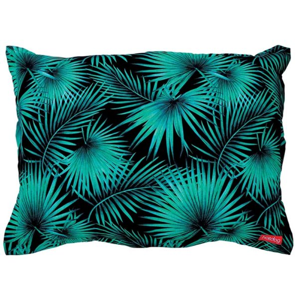 Hot Dog - Pet Bed - Large - Tropical Green - Annabel Trends