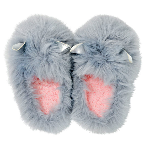 Slipper - Glam Critters - Grey - Annabel Trends