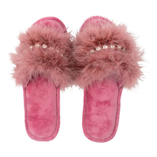 Slipper - Glam Slide - Pink - Annabel Trends