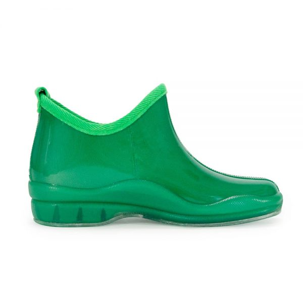 Gummies Ankle Boots - Green - Annabel Trends