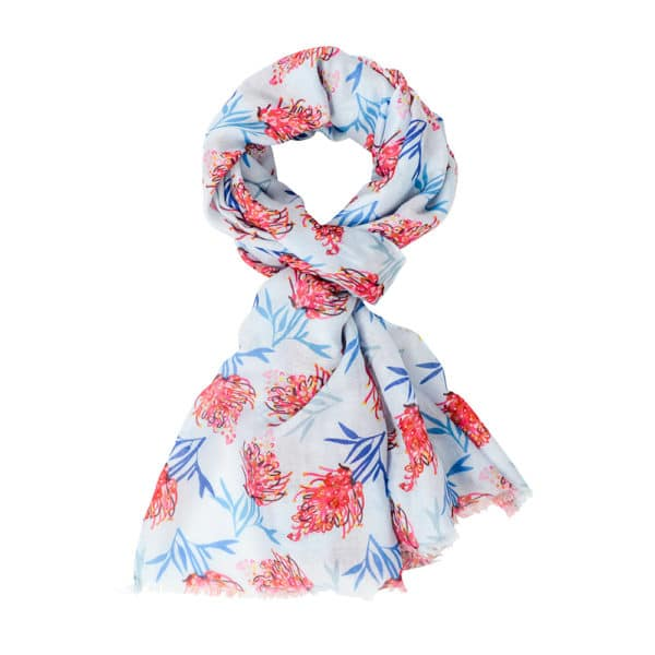 Scarf - Grevillea Pink - Annabel Trends