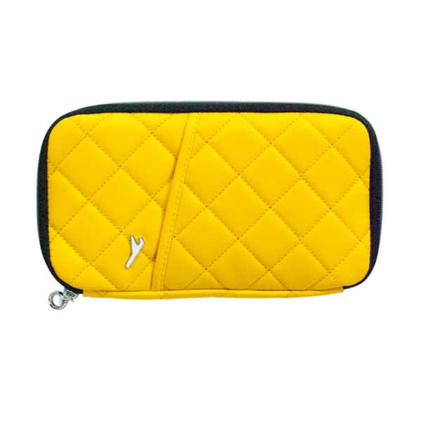 In Flight Document Wallet - Yellow - Annabel Trends
