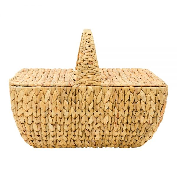 Picnic Basket - Water Hyacinth - Annabel Trends
