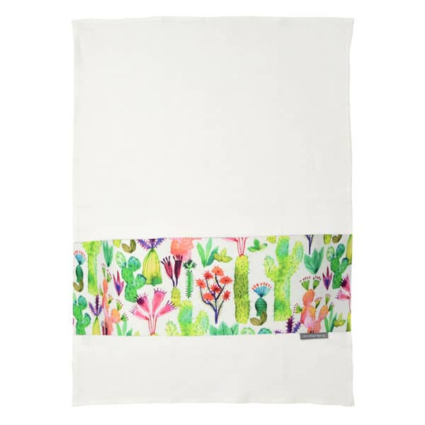 Tea Towel - Cacti Garden - Annabel Trends