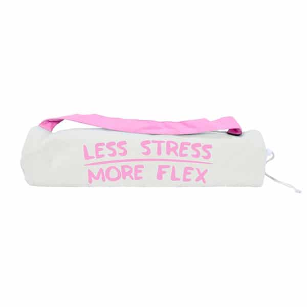 Yoga Mat Bag - Less Stress More Flex - Annabel Trends