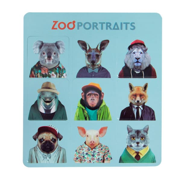 Zoo Portrait Magnet Set - Set 2 - Annabel Trends