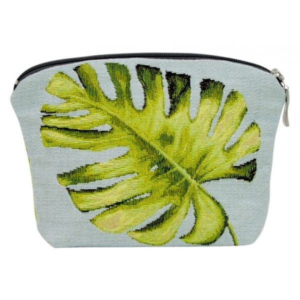 Annabella French Tapestry Cosmetic Bag - Leaf - Annabel Trends