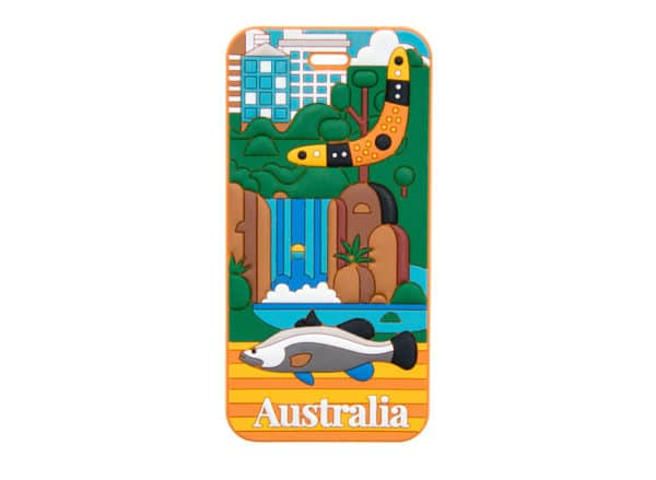 Australia Luggage Tag - Darwin - Annabel Trends