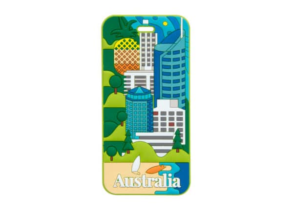 Australia Luggage Tag - Queensland - Annabel Trends