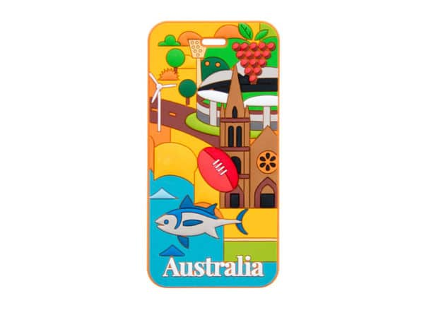 Australia Luggage Tag - Adelaide - Annabel Trends