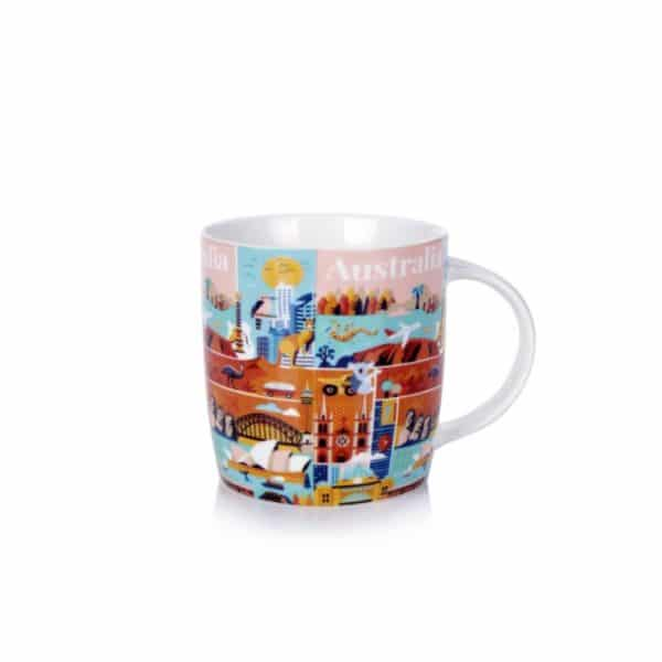 Australia Coffee Mug - Collage - Annabel Trends