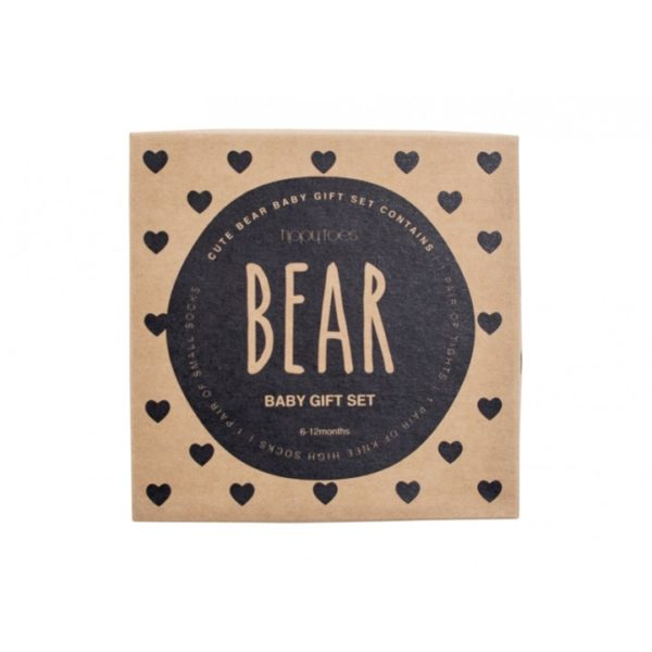 Boxed Baby Sock Set - Bear - Annabel Trends