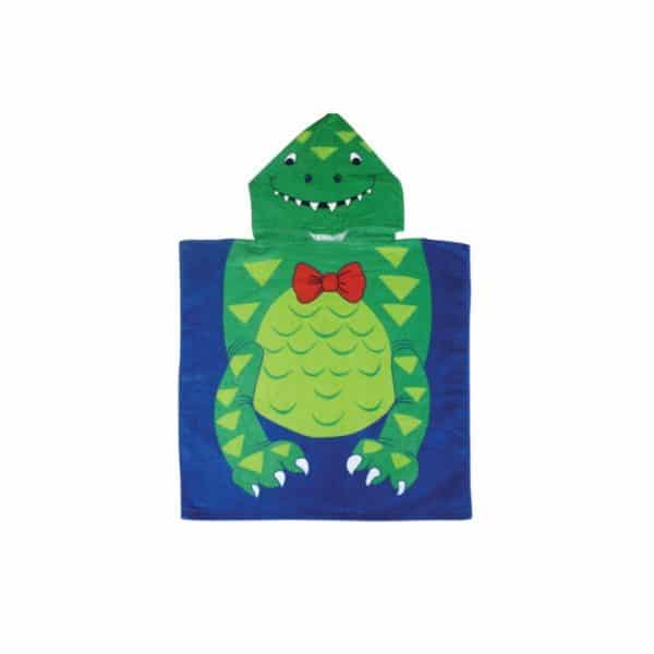 Kids Hooded Towels - Crocodile - Annabel Trends