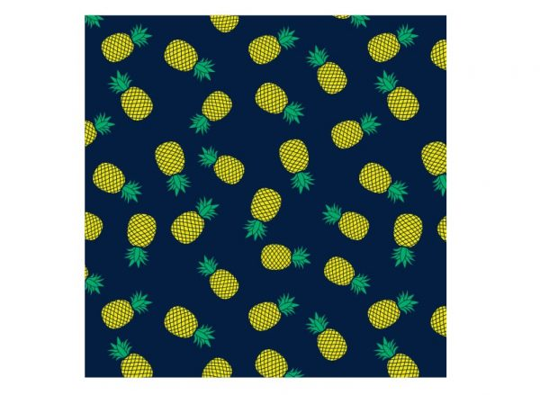Beach Throw - Pineapples - Annabel Trends