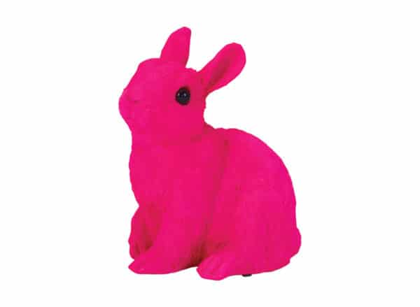 Bunny Ornament - Pink - Medium - Annabel Trends