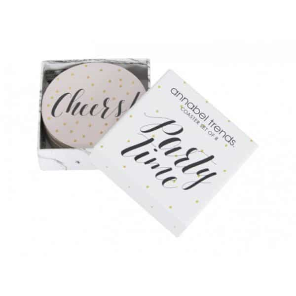 Coaster Set - Party Time - Annabel Trends